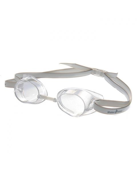 Mad Wave Racer Goggles - Transparent