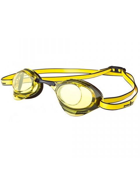 Mad Wave Turbo Racer II Yellow Goggles