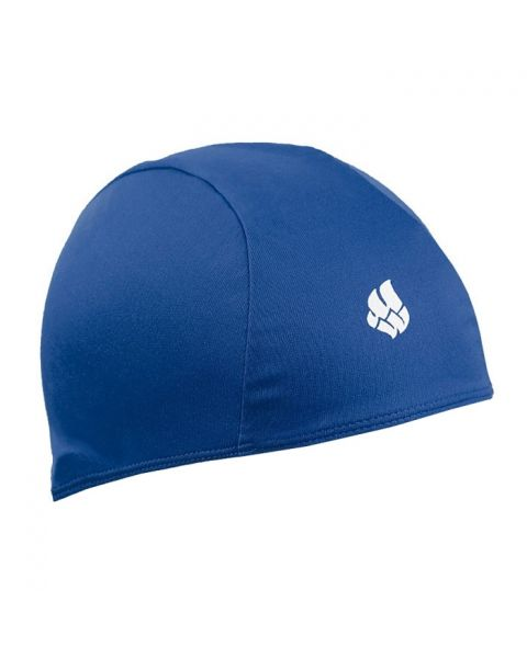 Mad Wave Poly Swim Cap Navy Blue