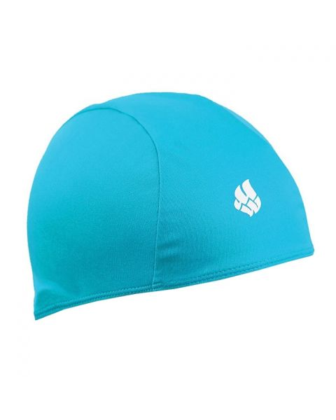 Mad Wave Poly Swim Cap Turquoise