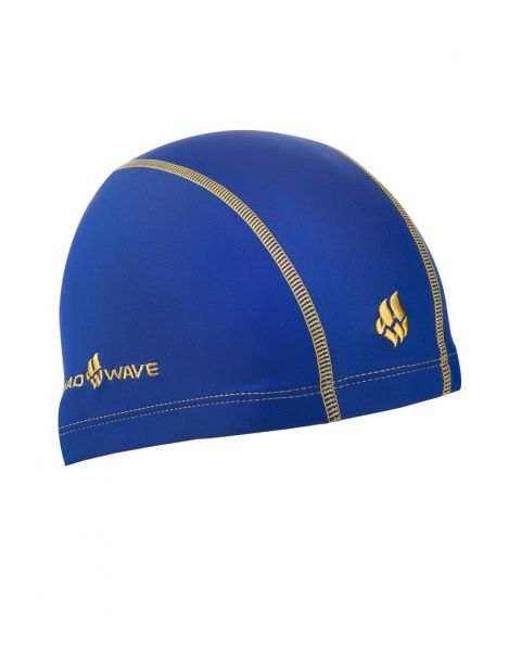 Mad Wave Ergofit Lycra Swim Cap Blue
