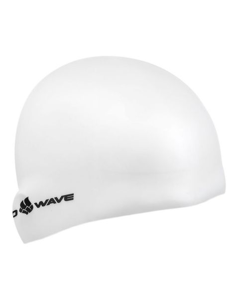 Mad Wave Intensive Long Haired Silicone Cap - White