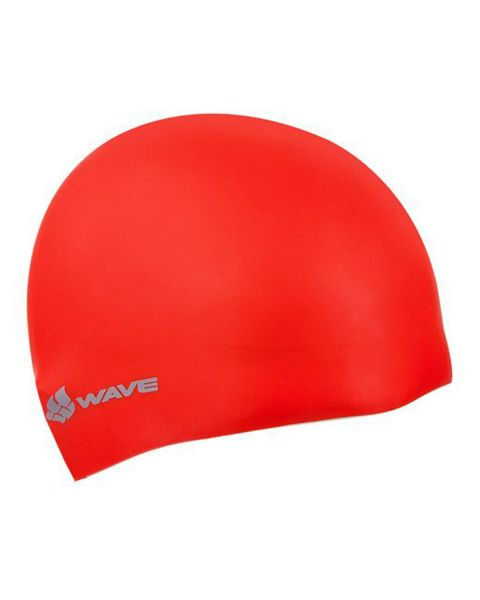 Mad Wave Intensive Long Haired Silicone Cap - Red