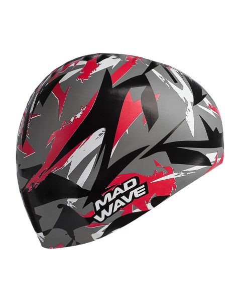 Mad Wave Sanford Silicone Cap - Red