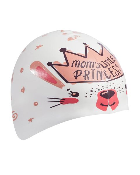 Mad Wave Little Bunny Bonnet De Natation En Silicone - Blanc