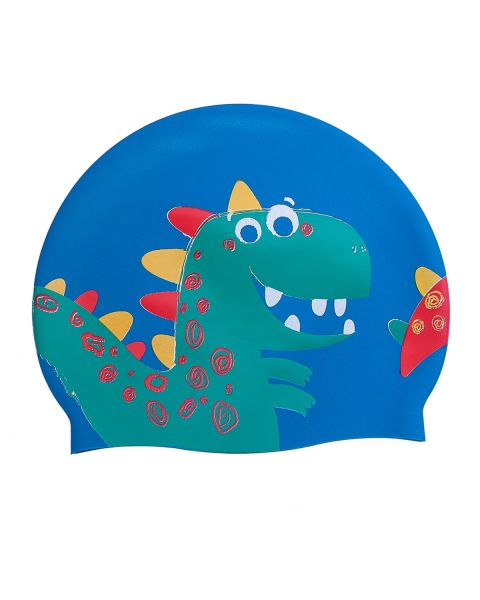 Mad Wave Dino Silicone Cap - Navy