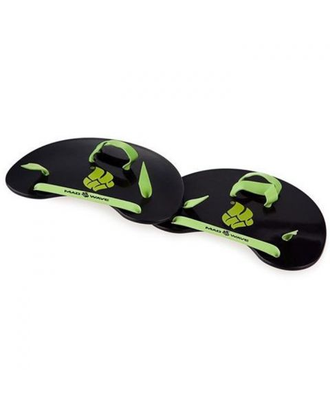 Mad Wave Finger Paddles - Black