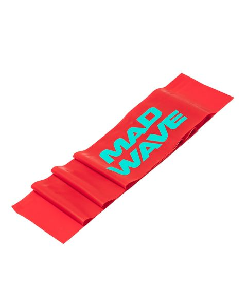Mad Wave Stretch Bandas - Rojo (0.4mm)