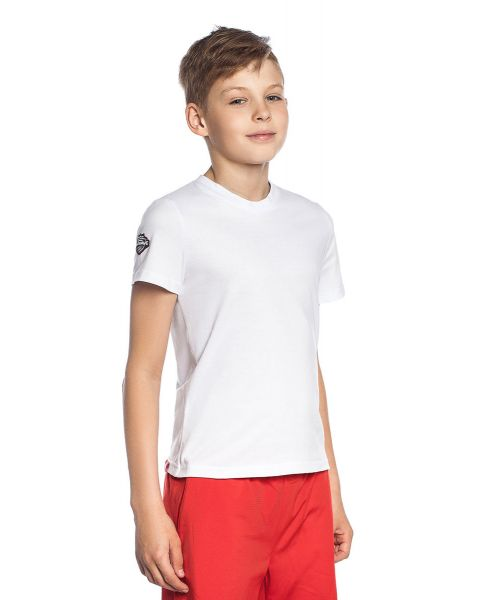 Mad Wave unisex Junior Pro T-Shirt - Vit