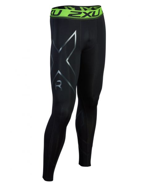 2XU Men's Refresh Recovery Compression Tights - Black / Nero