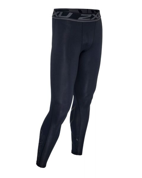 2XU Menn Accelerate Compression Tights - Sort