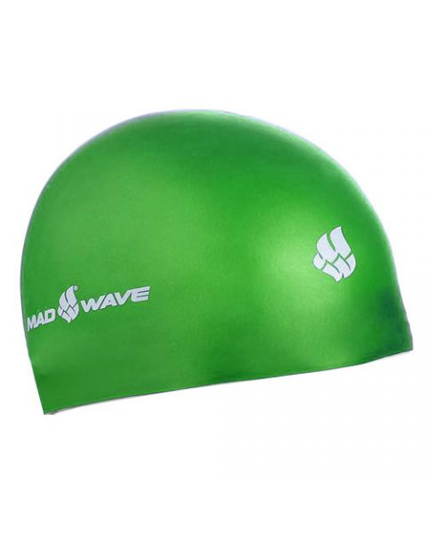 Mad Wave Silicone Cap - Green