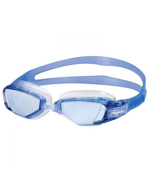 Swans Open Water Seven Mirrored Goggles - Blue / Silver