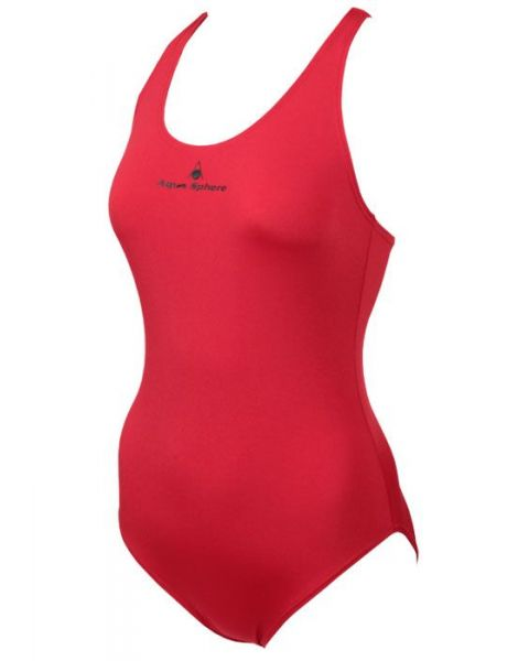 Aqua Sphere Girls Pamela Swimsuit Red