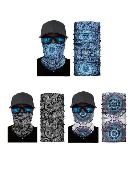Aquarias Physchadelic Neck Warmer - Pack of 3