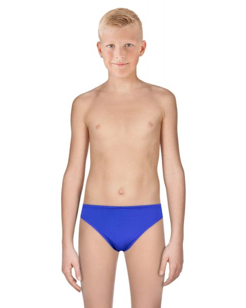 TYR Boy's Durafast Elite Solid Racer Brief - Royal Blue