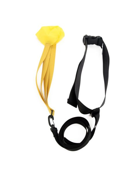 "StrechCordz Ceinture Drag / Tow Tether with 8"" chute"