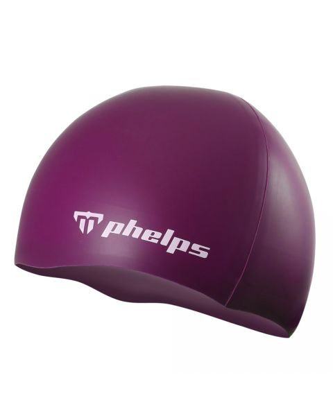 Phelps Classic Silicone Badehætte - Lilla
