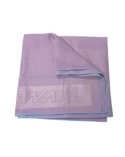 Swans Microfibre Sports Towel - Purple