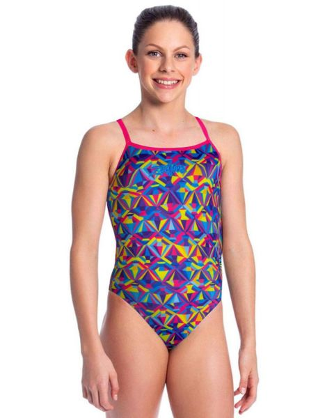 Zealous Girls Sherbet Sparkle Swimsuit