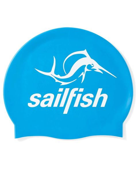 Sailfish Silicone Cap - Blue
