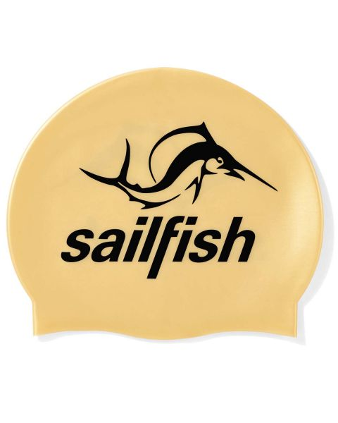 Sailfish Silicone Badekappe - Gold