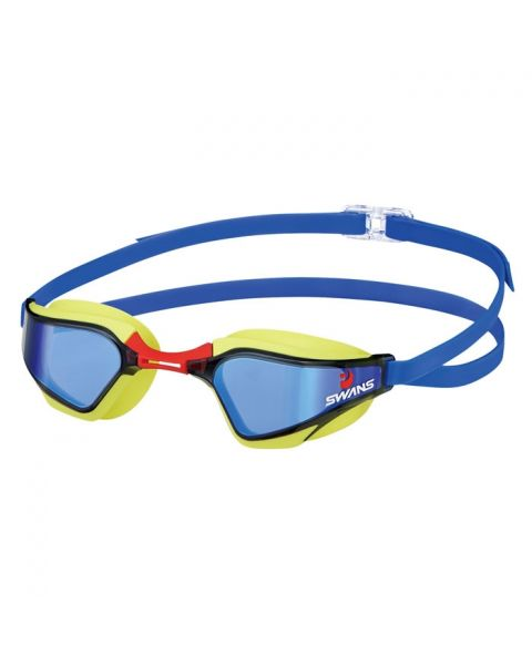 Swans SR-72 MIT Valkyrie Mirrored Goggles - Yellow / Blue