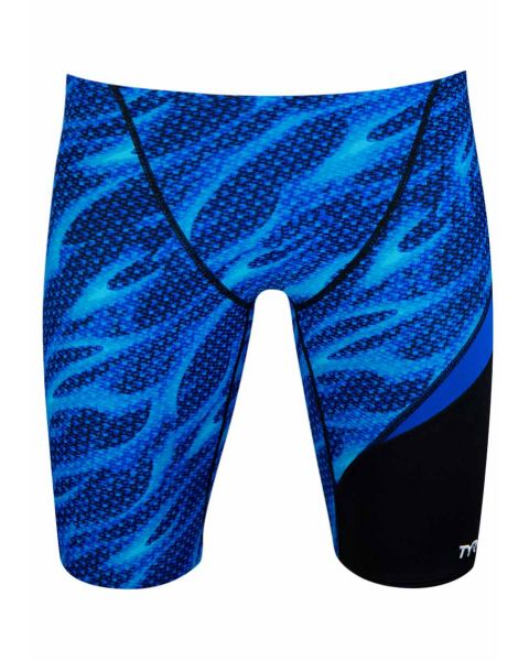 TYR Men's Reaper Performance Wave Jammer - Blue