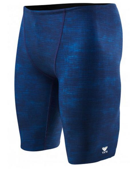 TYR Boy's Sandblasted Training All Over Jammer - Navy