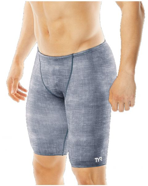 TYR Boy's Sandblasted Jammer - Grey