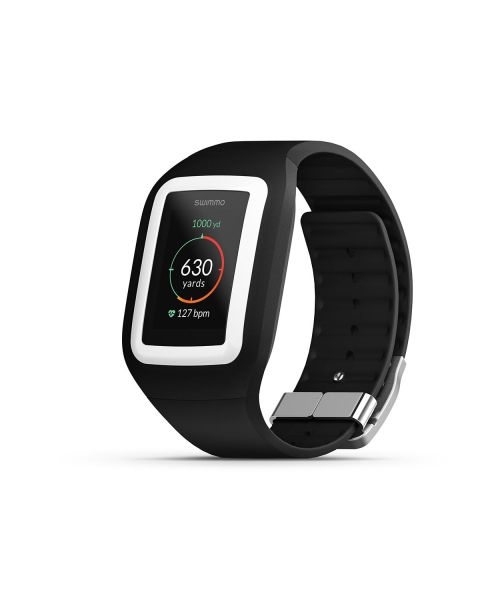 Swimmo Swimming Smart Watch - Black / White