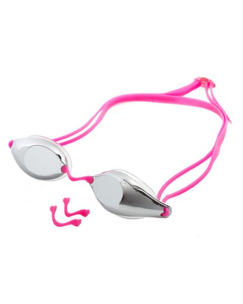 Aquarapid Racing Mirrored Goggles - Pink