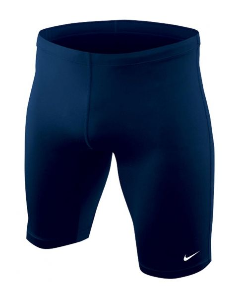 Nike Boys Poly Core Solids Jammer - Navy Blue Front