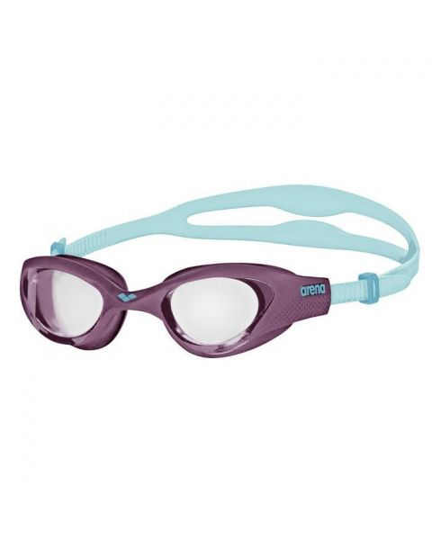 Arena The One Goggles - Clear / Purple / Turquoise