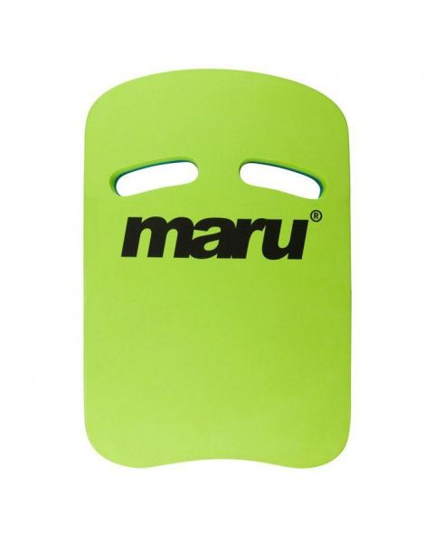 Maru Two Grip Kickboard - Blue / Lime