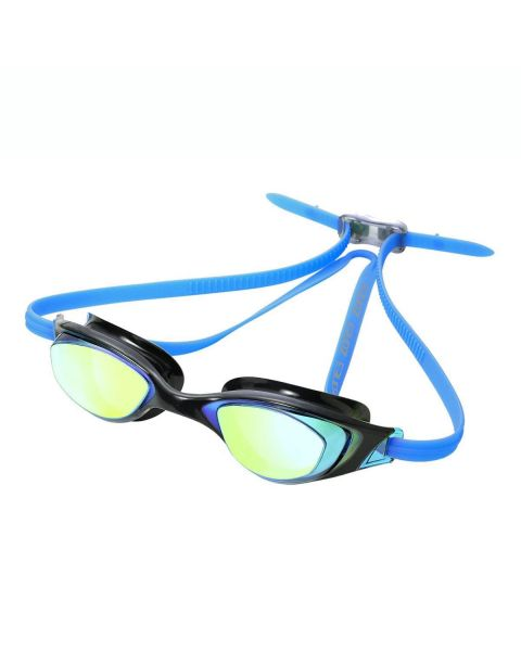 Zone3 Aspect Mirrored Goggle - Aqua/Black