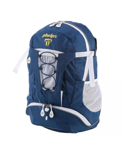 Phelps Team Backpack - Navy/ White