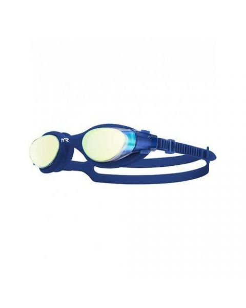 TYR VESI Mirrored Goggle - Gold / Navy