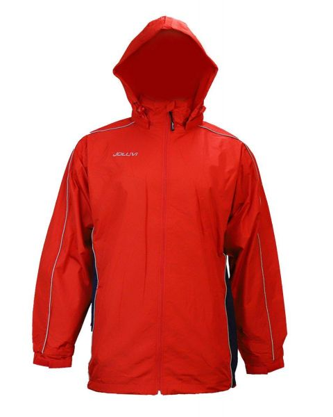 Joluvi Men's Chubasquero Jacket - Red/Blue
