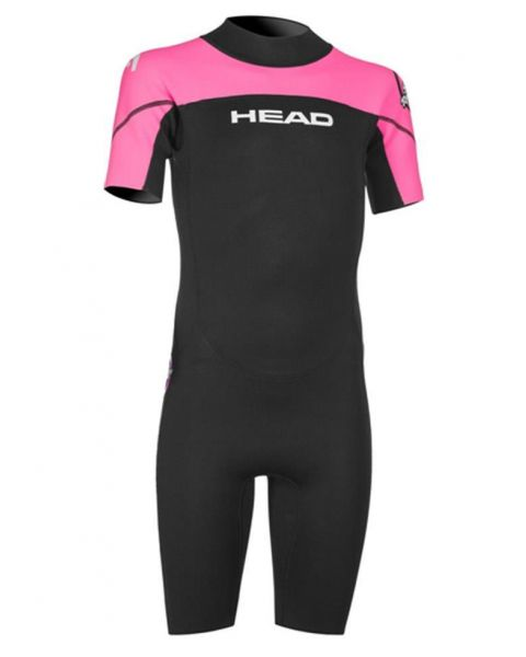 Head Junior Sea Ranger Neoprenanzug - Schwarz / Rosa