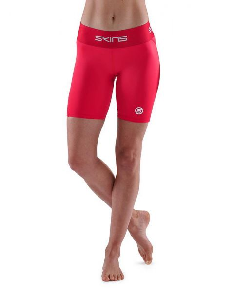 SKINS Series-1 Womens Half Tight - Red