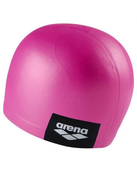 Arena Logo Bonnet De Natation Moulé - Rose