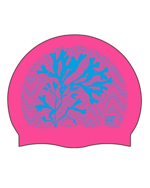 Swim Secure Swim Cap - Coral Design