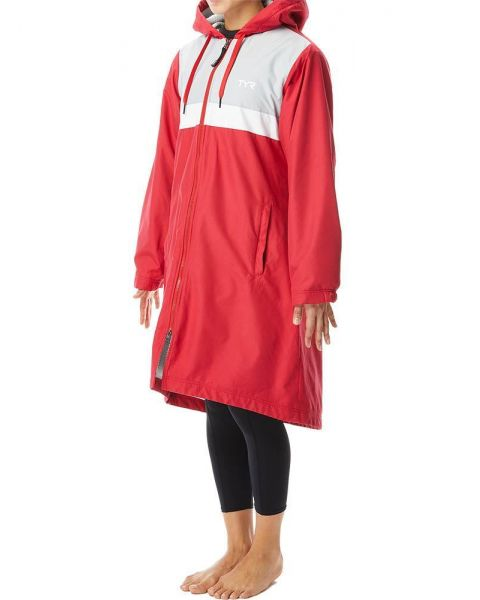 TYR Women's Alliance Podium Parka - Red