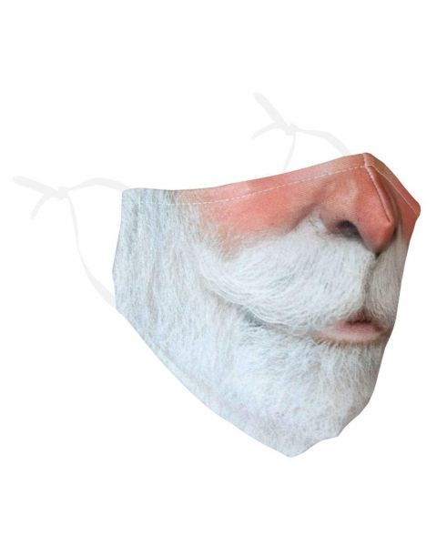 Stay Safe Face Mask - Santa