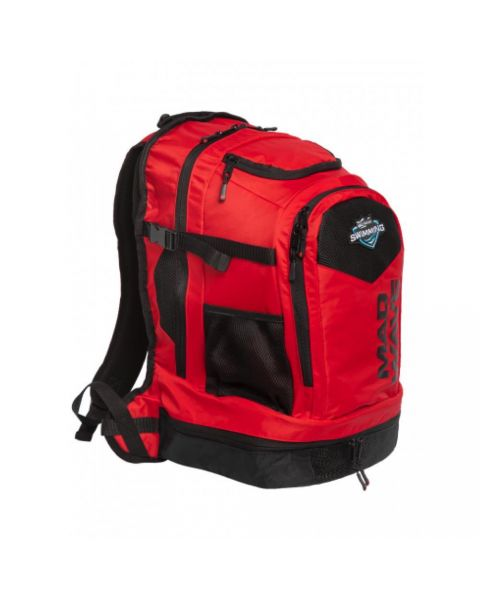 Mad Wave  Lane Mochila  - Rojo