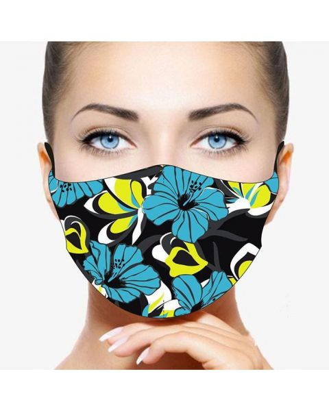 Stay Safe Face Mask - Flowers