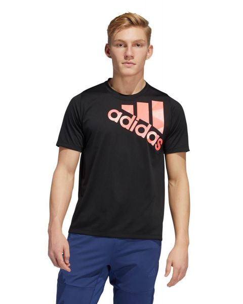 Adidas Mens Tokyp Badge Of Sport T-Shirt - Black