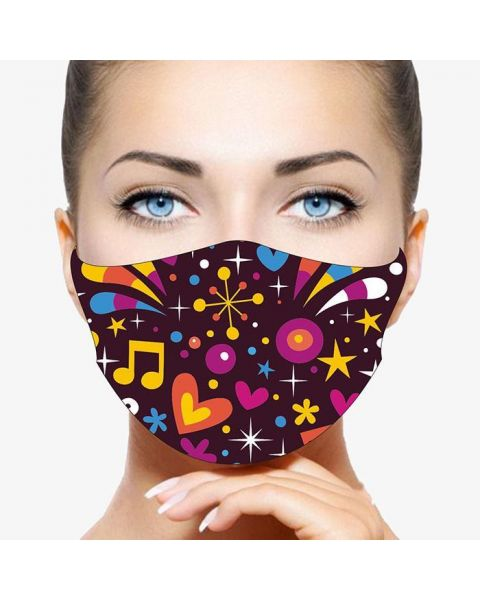 Stay Safe Face Mask -  Party