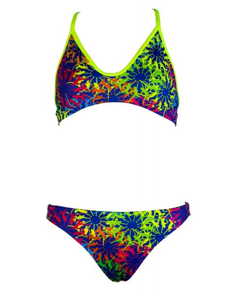 Turbo Girls Rueda Swim Bikini Set - Blue